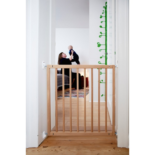 BabyDan Elsa Wooden Safety Gate - Fits Openings from 71.5 up to 78.5cm