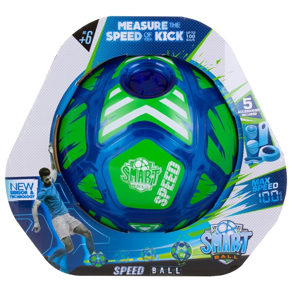 Smart Ball Speed Ball Football – Measure The Speed of Your Kick! Up To 100KPH