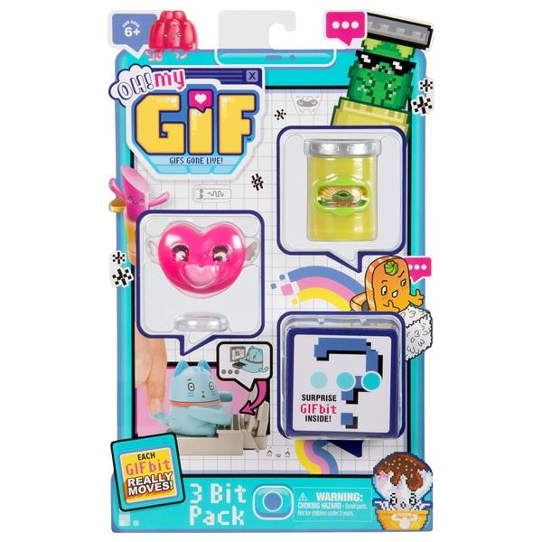 OH! MY GIF 3-Bit Pack Assortment