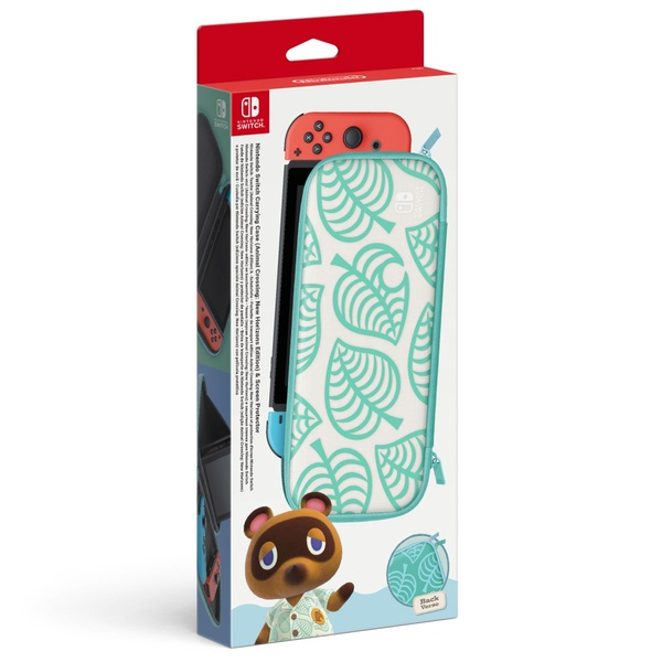 Nintendo Switch Animal Crossing: New Horizons Carrying Case & Screen Protector