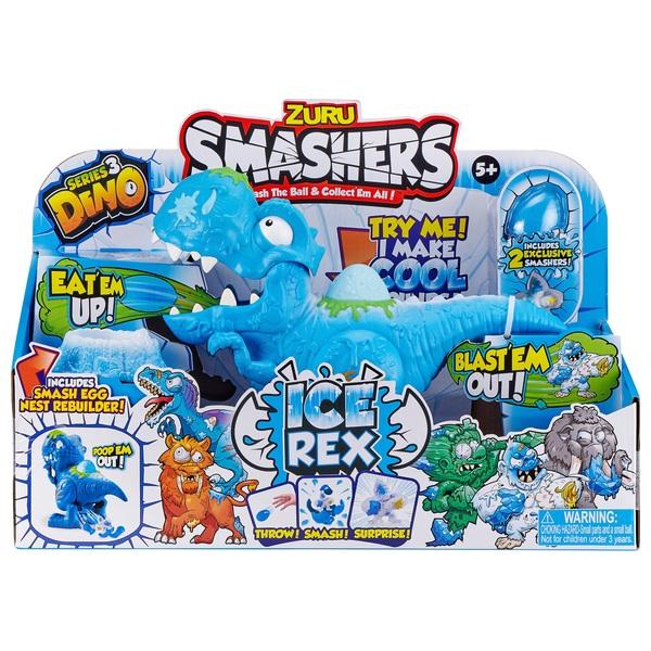 Zuru Smashers Dino Ice Age Ice Rex Playset
