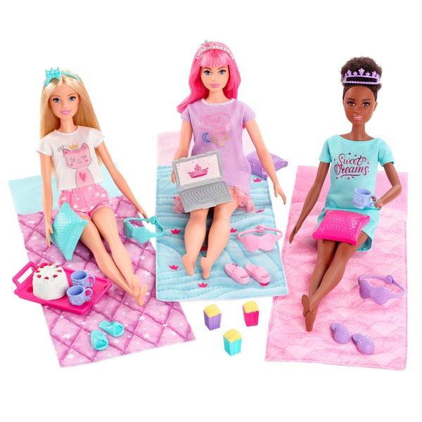 Barbie Princess Adventure Slumber Party Sleepover Playset