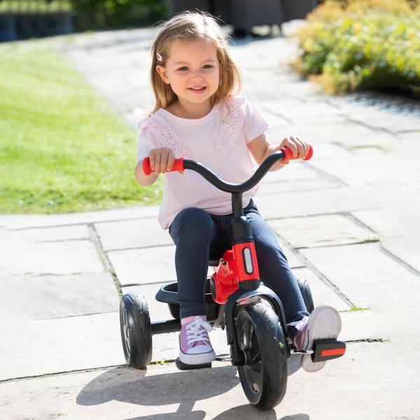 Q Play Ant Folding Trike Red