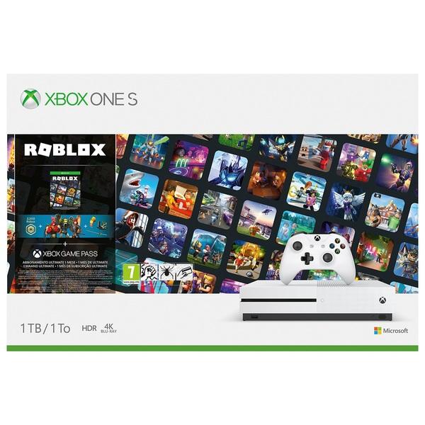 Xbox One S 1TB Roblox Bundle