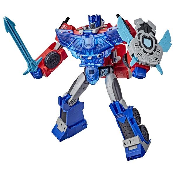 Optimus Prime Transformers Cyberverse Adventures Battle Call Officer Class Action Figure