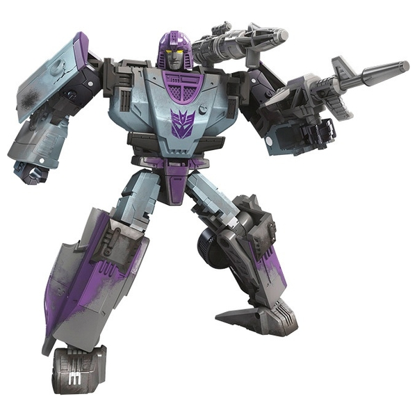 Decepticon Mirage Transformers War for Cybertron: Deluxe Collectible Action Figure