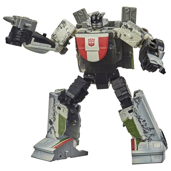 Wheeljack Transformers Generations War for Cybertron Deluxe Collectible Action Figure
