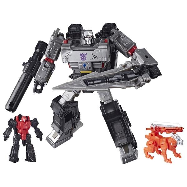 Decepticon Megatron Transformers War for Cybertron Battle 3-Pack Collectible Action Figure