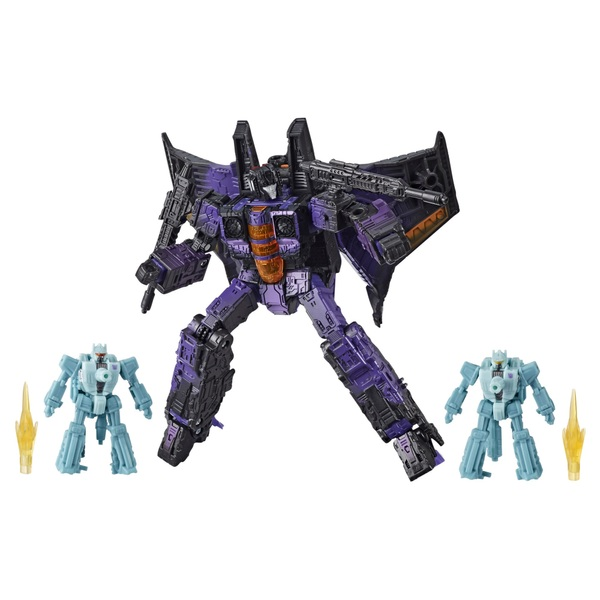 Decepticon Hotlink Transformers War for Cybertron Battle 3-Pack Collectible Action Figure