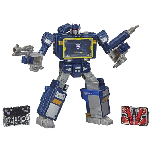 Soundwave Transformers War for Cybertron Battle 3-Pack Collectible Action Figure