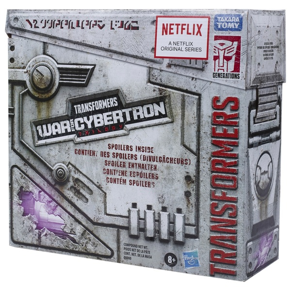 Ultra Magnus Transformers War for Cybertron Unboxing Spoiler Collectible Action Figure Pack