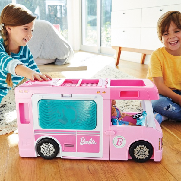 Barbie 3-in-1 DreamCamper and Accessories