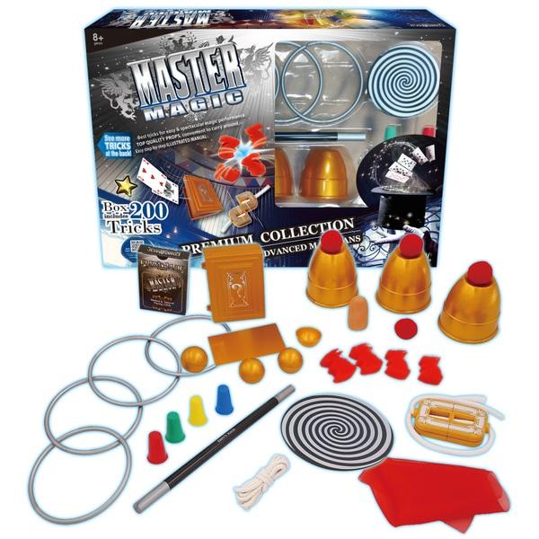 Master Magic 200 Tricks Set