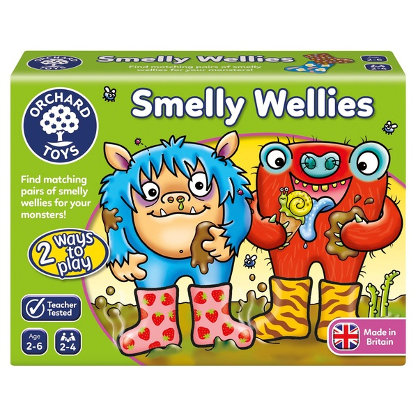 Orchard Toys Smelly Wellies Board Game