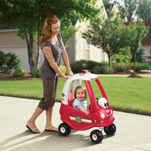 Little Tikes Fire Ride 'n Rescue Cozy Coupe
