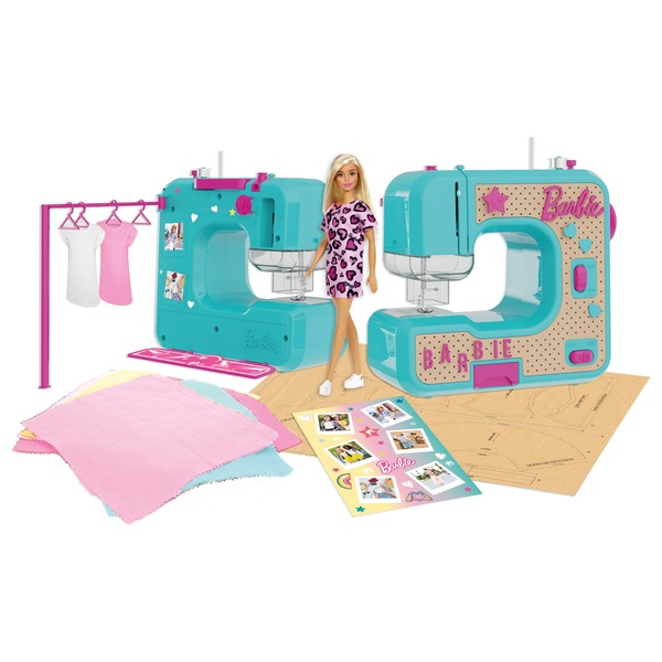 Barbie Sewing Machine with Doll