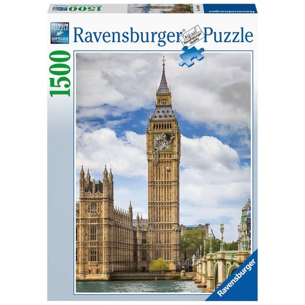 Ausgefallenkreatives - Ravensburger Findus am Big Ben 1500 Teile - Onlineshop Smyths Toys