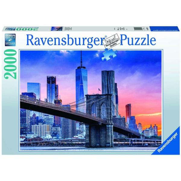 Ausgefallenkreatives - Ravensburger Von Brooklyn nach Manhatten 2000 Teile - Onlineshop Smyths Toys