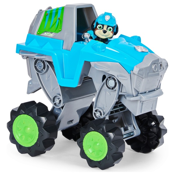 PAW Patrol Dino Rescue Rex's Transforming Vehicle with Mystery Dinosaur Figure
