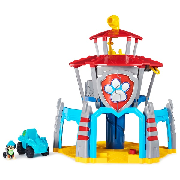PAW Patrol Dino Rescue HQ Playset with Sounds and Exclusive Rex Figure and Vehicle