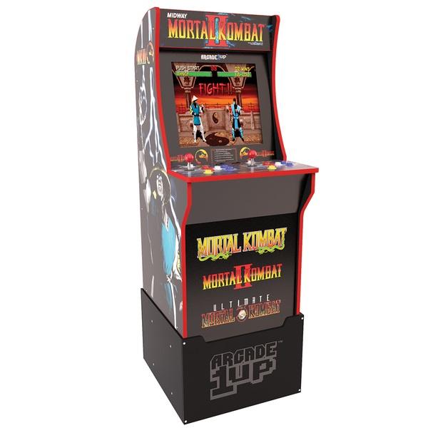 Arcade1up Mortal Kombat Cabinet Including Riser