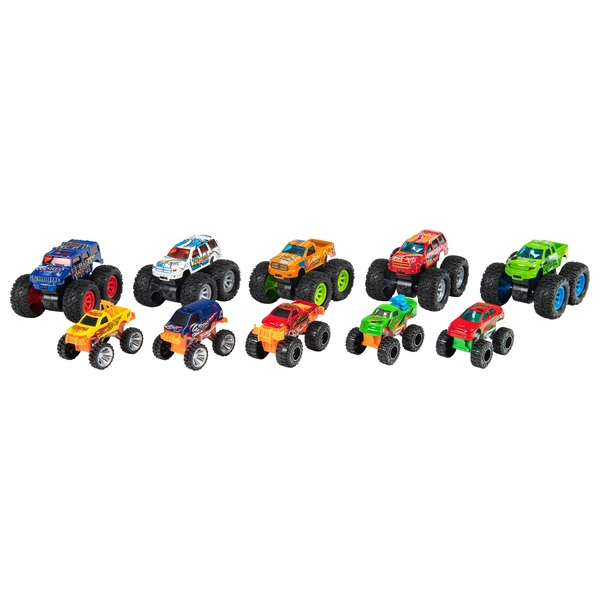 Monster Trucks 10 Pack