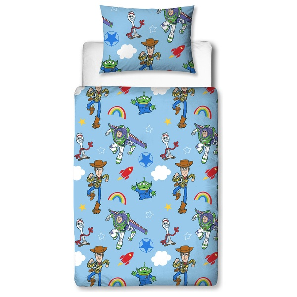 4 Piece Toy Story Roar Junior Bedding Bundle