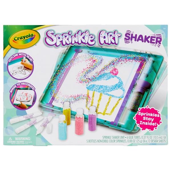 Crayola Sprinkle Art Shaker Set