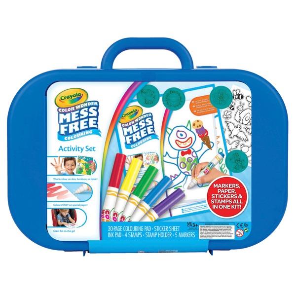 Crayola Colour Wonder Create And Carry Case Art Set Smyths Toys Uk