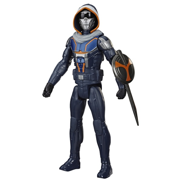 Black Widow Titan Hero Series Blast Gear Taskmaster Action Figure 30cm Marvel Avengers