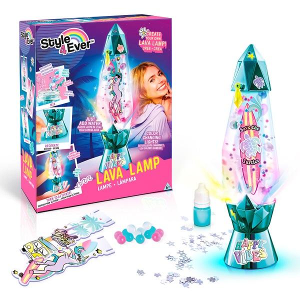 Style 4 Ever Diy Lava Lamp Smyths Toys Uk, Battery Lava Lamp Uk