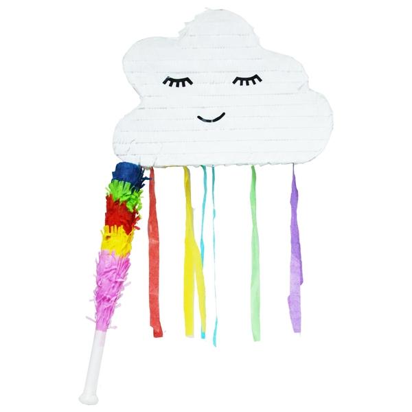 Partybedarfpartydeko - Piñata Wolke mit Stock - Onlineshop Smyths Toys