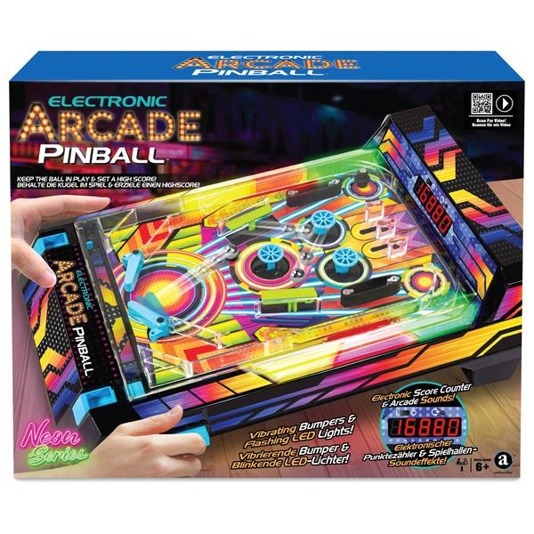 Electronic Arcade Pinball Neon Series