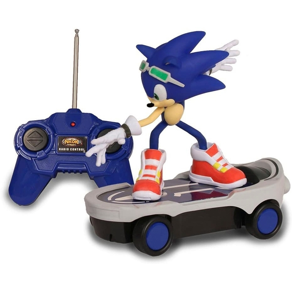 Sonic The Hedgehog Free Riders Radio Control Racer