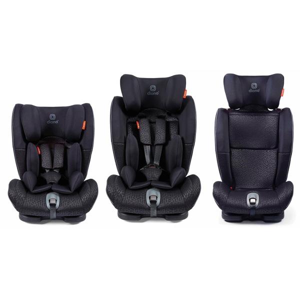 Diono Orcas NXT Fix ISOFix Group 1-2-3 Car Seat Black