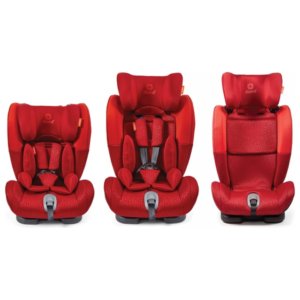 Diono Orcas NXT Fix Group 1-2-3 Car Seat Red