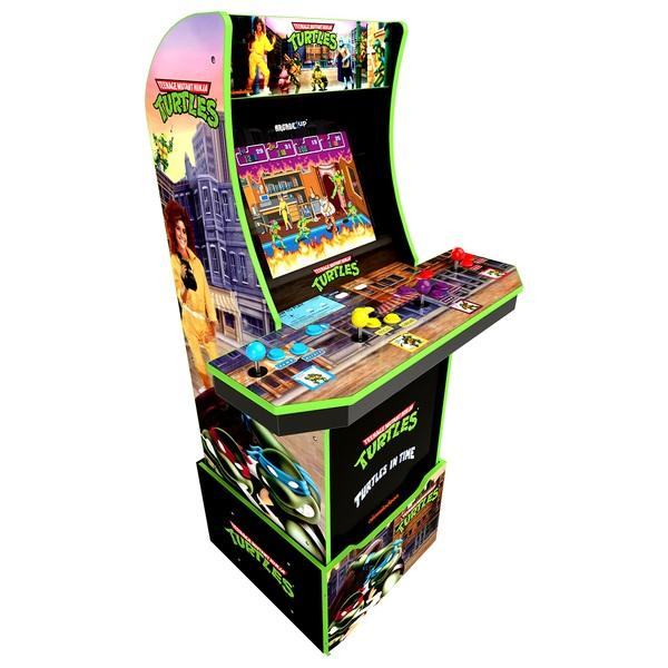 Arcade1Up: Teenage Mutant Ninja Turtles Cabinet Including Riser