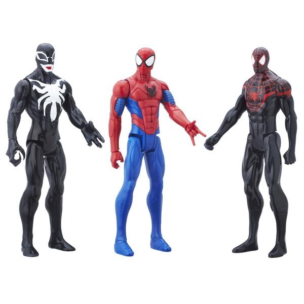 Marvel Spider-Man Titan Hero Series 3 Pack