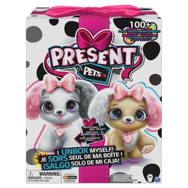 Present Pet Fancy Puppy Interactive Plush Pet Toy Assortment Smyths Toys Uk
