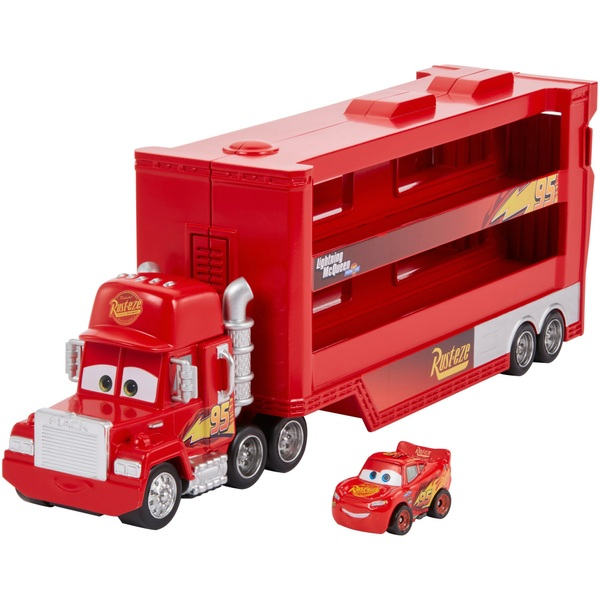 Cars Mini Racer Mack Truck Transporter