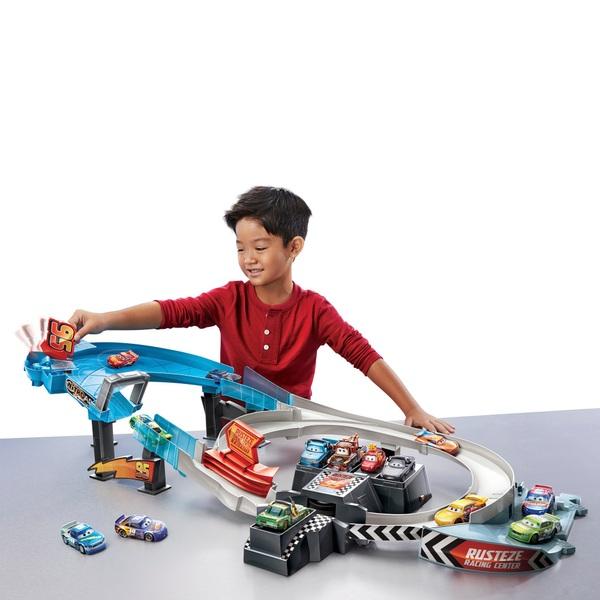 Disney Pixar Cars Rusteze Double Circuit Speedway