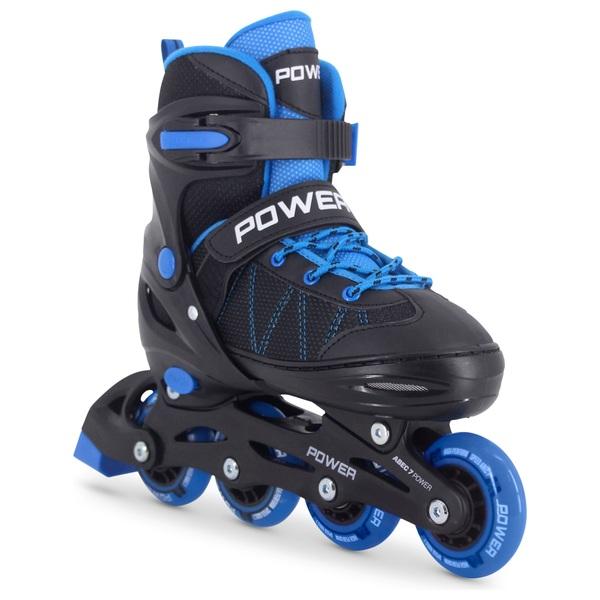 Adjustable Inline Skate Blue Black 12 - 1.5