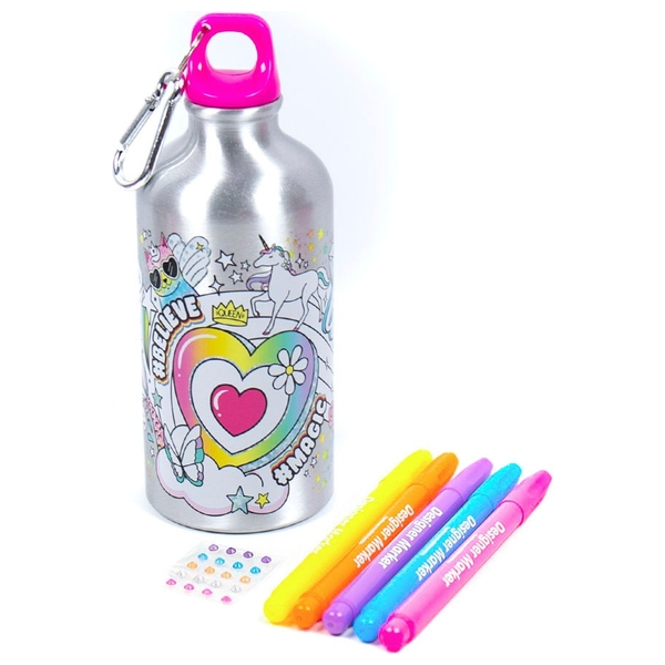 Just My Style Color Your Own Water Bottle