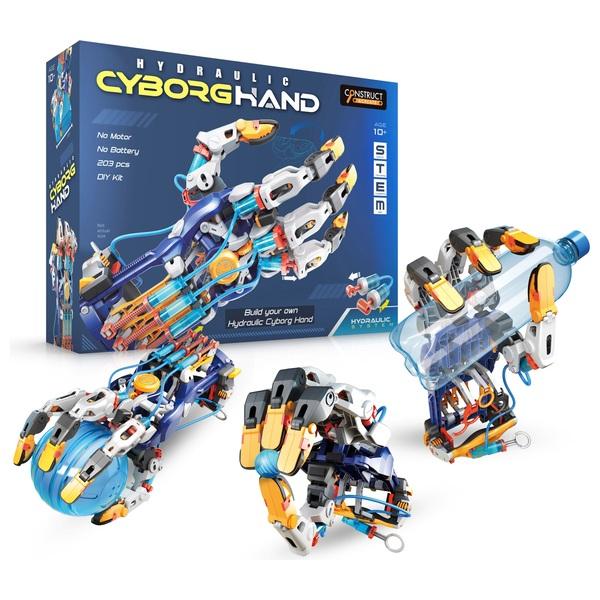 Construct and Create Hydraulic Cyborg Hand