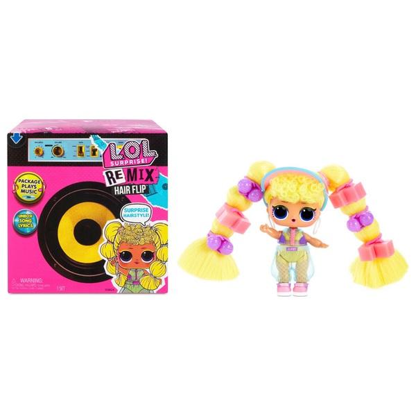 L.O.L. Surprise! Remix Hair Flip Doll Assortment