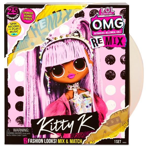 L O L Surprise O M G Remix Kitty K Fashion Doll Smyths Toys Ireland