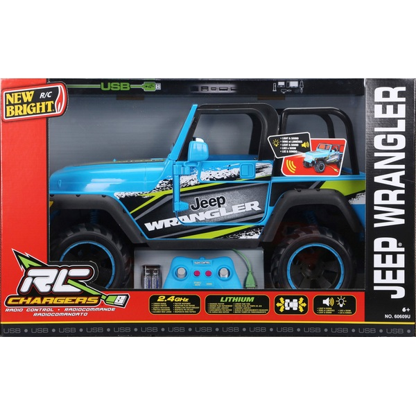 New Bright Radio Control Jeep Wrangler