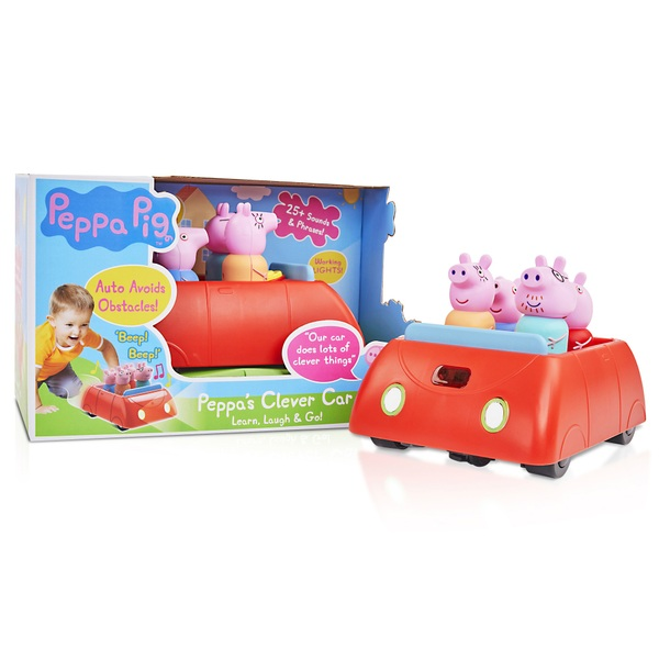 Peppa Pig Peppa's Clever Car with Lights and Sounds