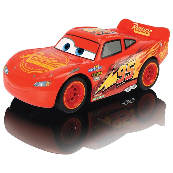 Remote Control Disney Cars 3 Lightning McQueen Turbo Racer