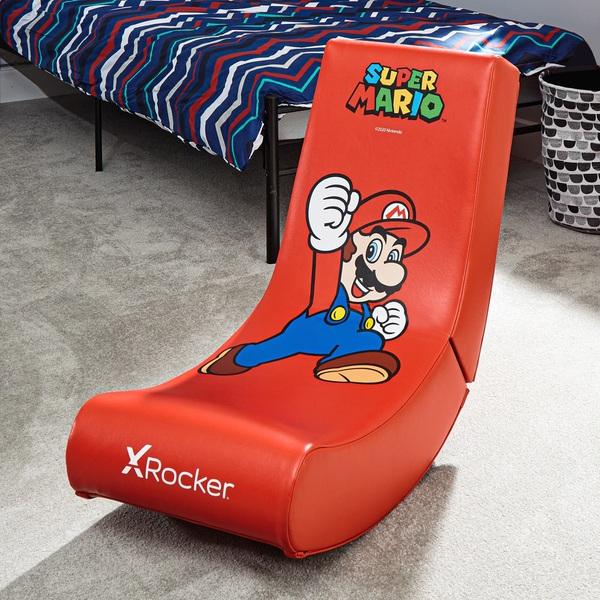 X Rocker Super Mario Video Rocker – Jump Edition